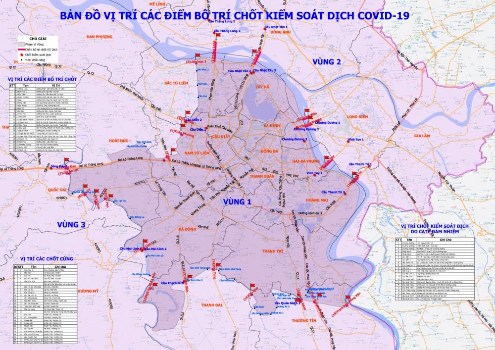 Hướng dẫn tổ chức giao thông cho người dân trên địa bàn Thành phố từ 6h ngày 6/9 đến 6h ngày 21/9