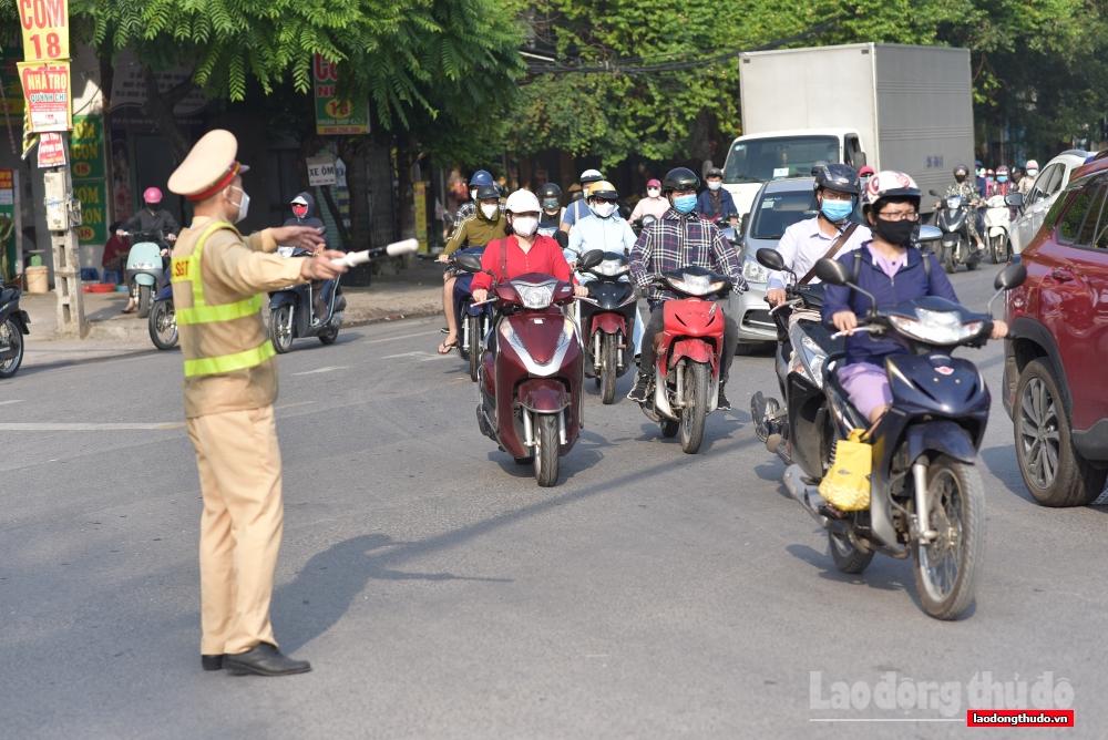 Kiểm soát hơn 20 nghìn lượt phương tiện ra vào thành phố