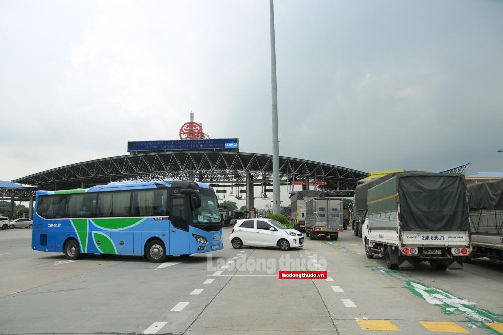 Các chốt phòng dịch đã kiểm soát 15.515 lượt người ra - vào thành phố Hà Nội