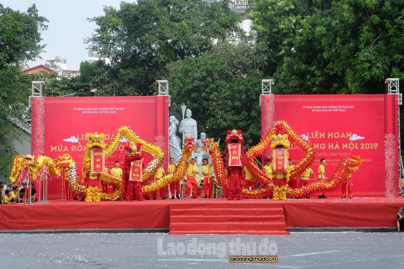 Mãn nhãn liên hoan múa Rồng Hà Nội 2019