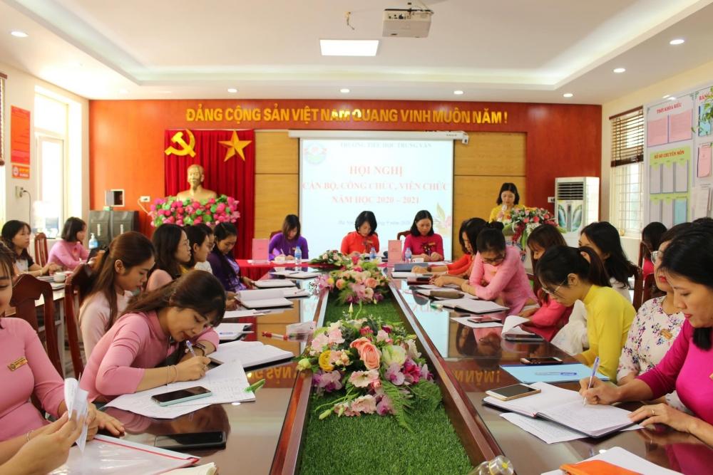 Công đoàn phát huy vai trò quan trọng trong nhà trường