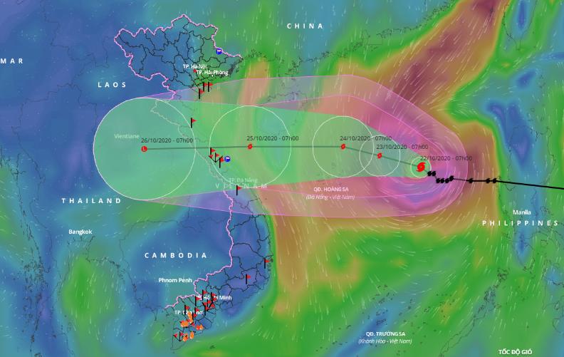 Chuyên gia phân tích về khả năng ảnh hưởng của bão số 8