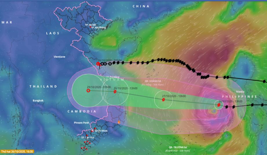 Chuyên gia phân tích về khả năng ảnh hưởng của bão số 9