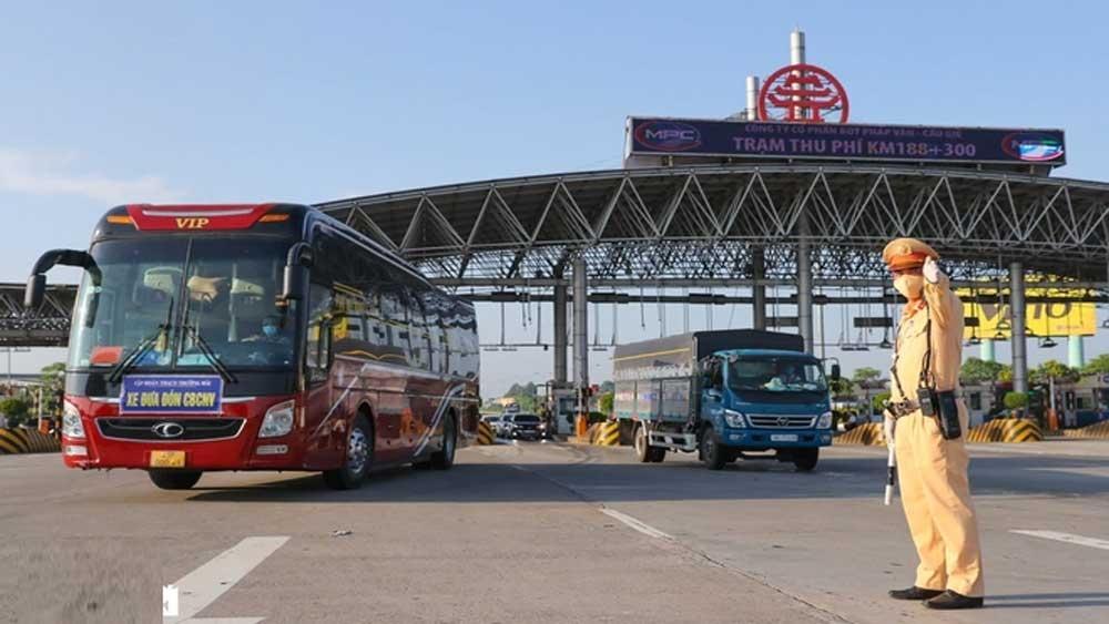 Kiểm soát gần 25 nghìn phương tiện ra vào cửa ngõ Thủ đô