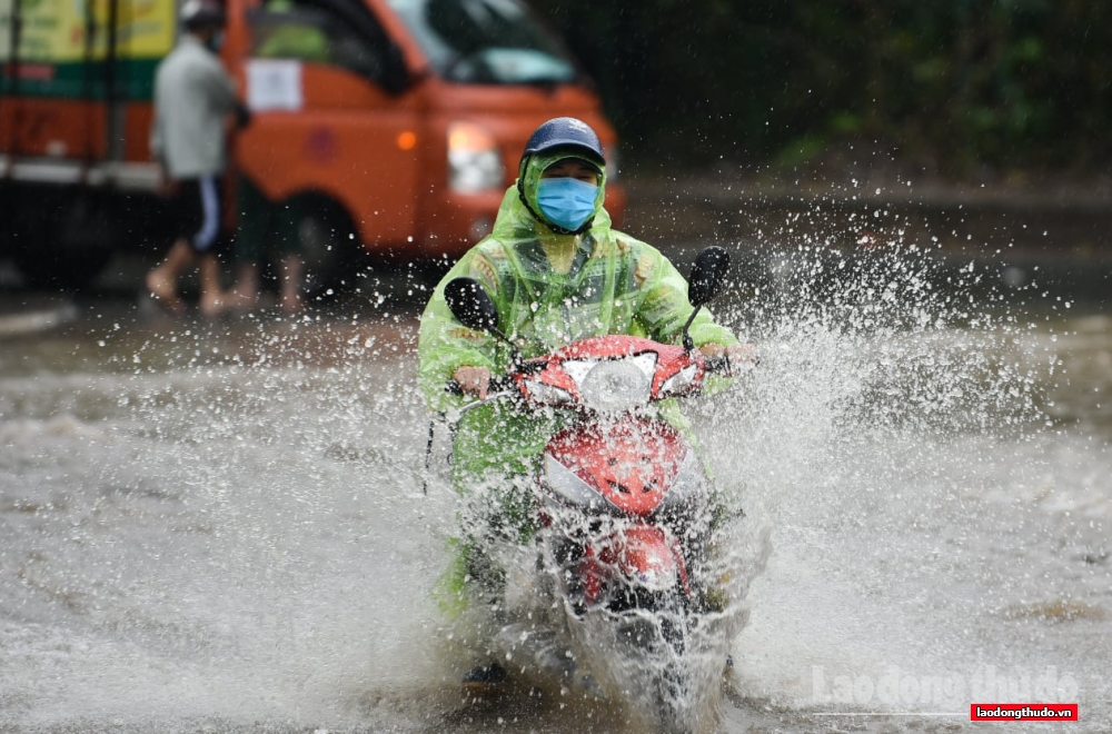 Ảnh hưởng của không khí lạnh, cuối tuần Bắc Trung Bộ, Trung Trung Bộ có nơi mưa rất to