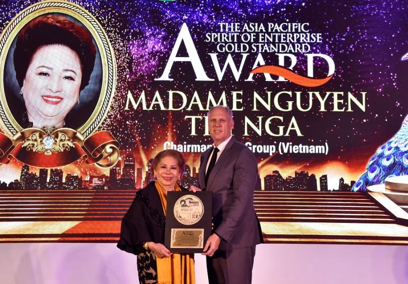 Chủ tịch Tập đoàn BRG Nguyễn Thị Nga giành nhiều giải thưởng lớn tại Asian Golf Awards 2019
