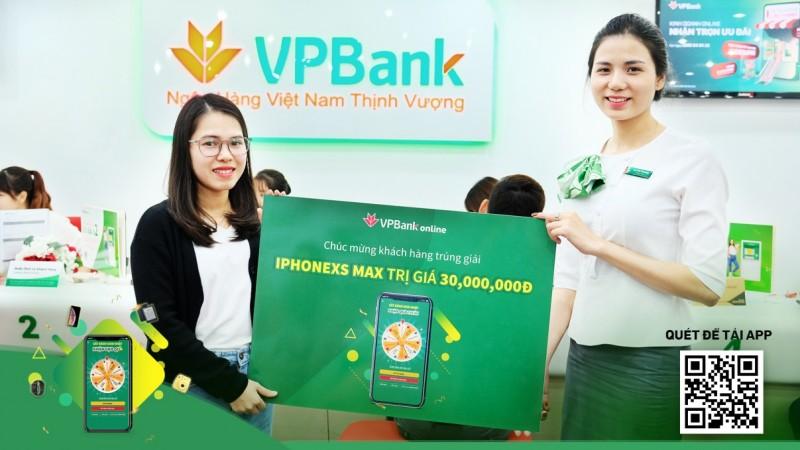 Chúc mừng những khách hàng may mắn nhận quà tặng trúng thưởng từ VPBank