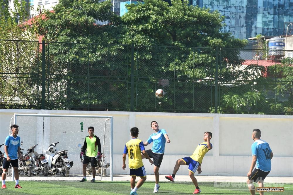 Kết quả ngày thi đấu thứ hai giải bóng đá Cup báo Lao động Thủ đô lần thứ VI