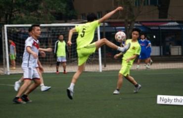 Những hình ảnh đẹp trong ngày thi đấu thứ 2 Giải bóng đá Cúp báo Lao Động Thủ Đô 2016