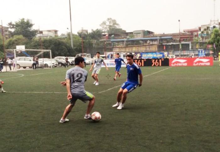 Những khoảnh khắc đẹp tại Giải bóng đá Cúp Báo Lao động Thủ đô lần thứ II
