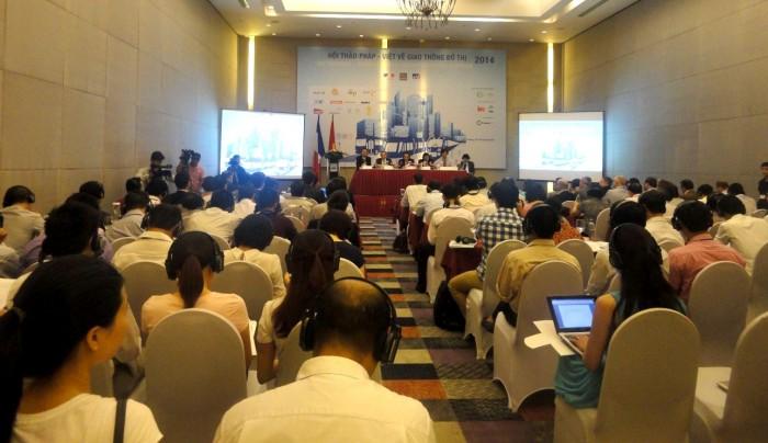 Việt-Pháp trao đổi kinh nghiệm phát triển giao thông đô thị