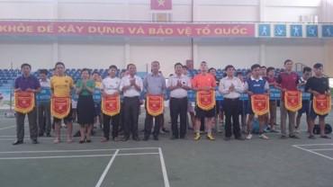 Tổ chức giải bóng đá chào mừng Đại hội Đảng bộ TP Hà Nội