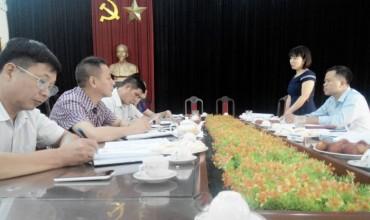 LĐLĐ huyện Đông Anh tổ chức kiểm tra tài chính công đoàn cơ sở