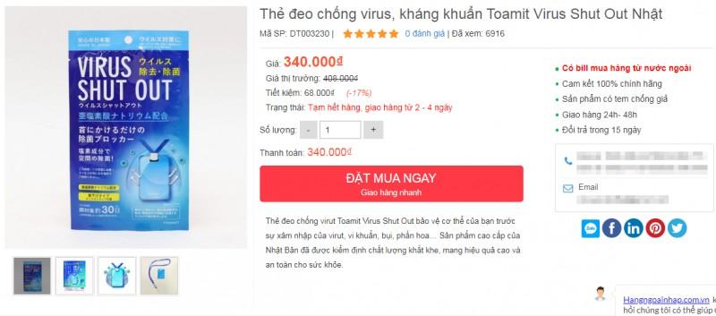 thuc hu tac dung cua the deo chong virus khang khuan