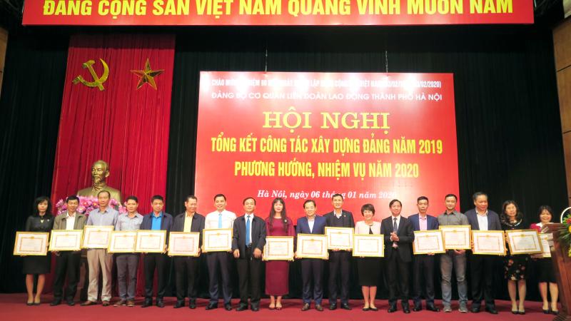 Đảng bộ cơ quan Liên đoàn Lao động TP Hà Nội: Chuẩn bị tâm thế để tạo các bước đột phá