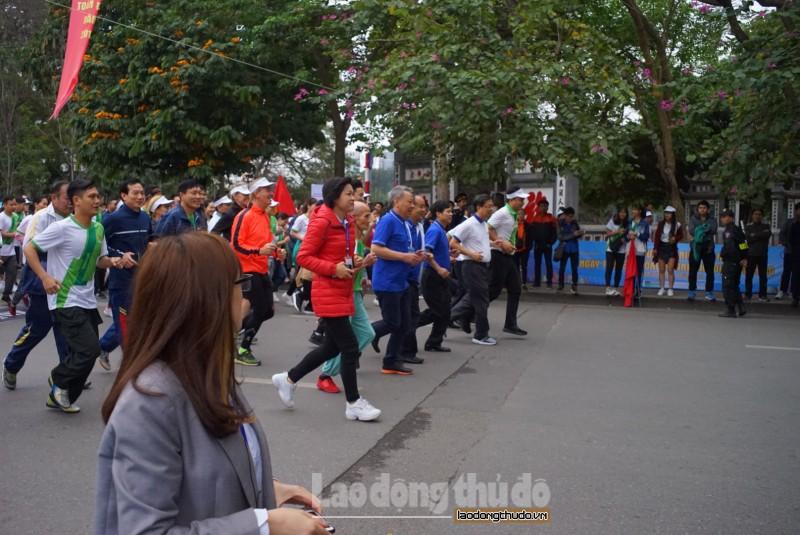 Hà Nội tổ chức Ngày chạy Olympic vì sức khỏe toàn dân