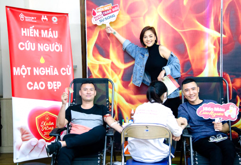 Công đoàn chung tay hiến máu cứu người