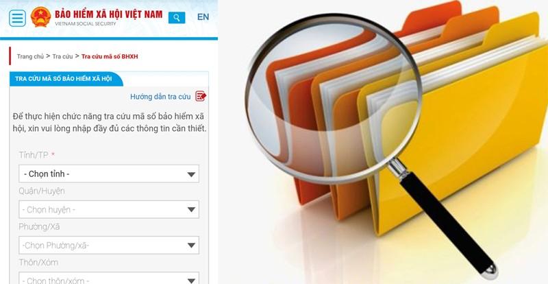 Dịch vụ tra cứu quá trình tham gia bảo hiểm bằng tin nhắn