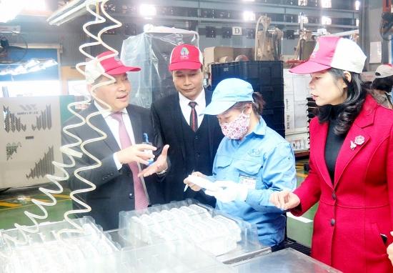 Đồng hành xây dựng đội ngũ công nhân Thủ đô lớn mạnh