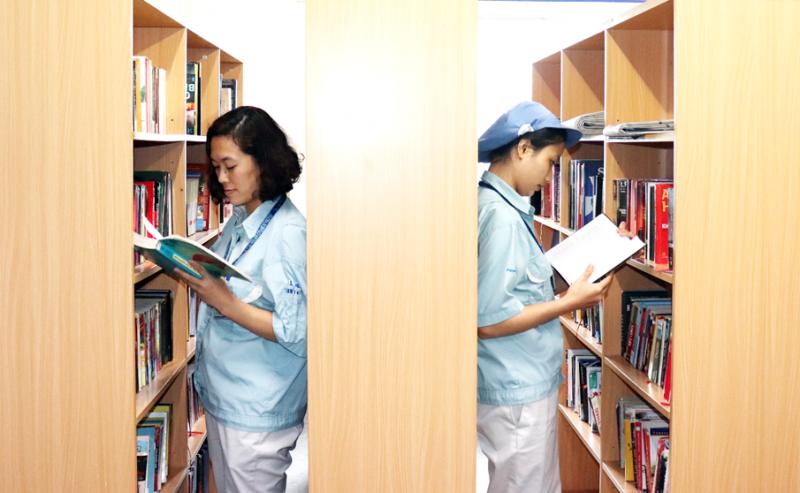 Phát triển văn hóa đọc trong công nhân lao động