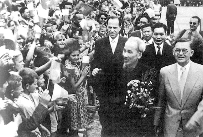 Chủ tịch Hồ Chí Minh - Hiện thân của văn hoá hoà bình