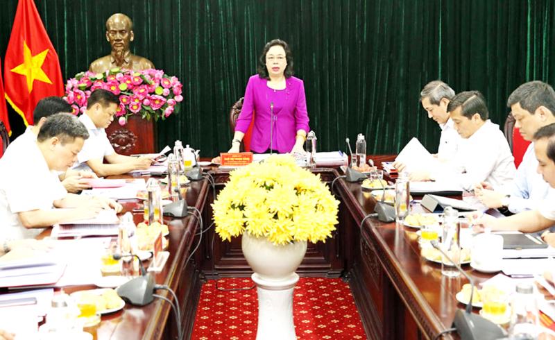 Đại hội Đảng bộ quận Ba Đình phải thực sự gương mẫu và thành công