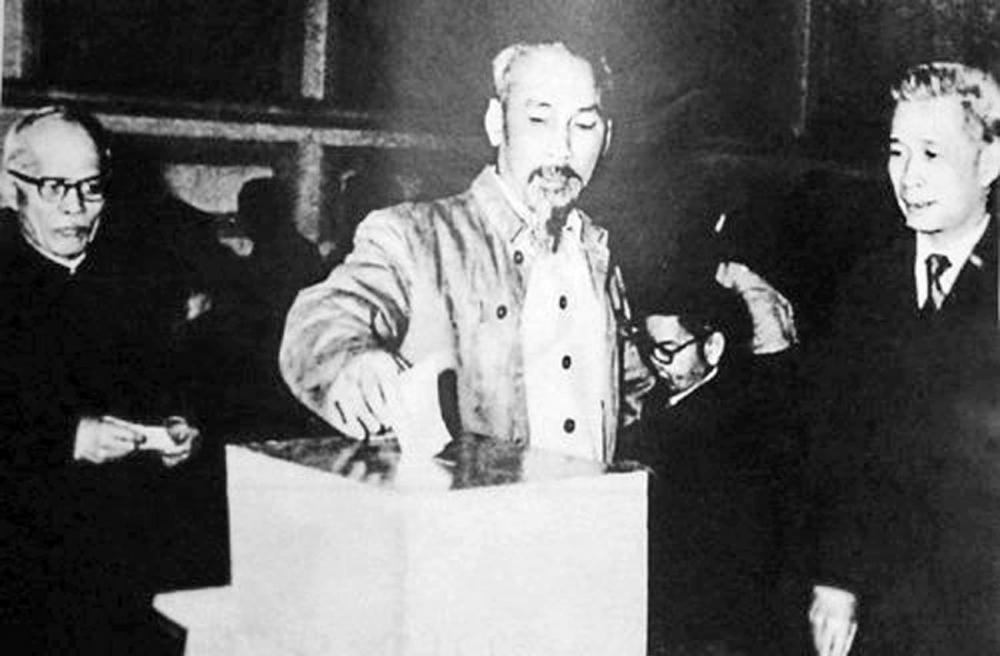Bác Hồ và kỳ bầu cử Quốc hội đầu tiên