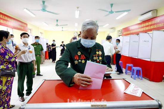 Cuộc bầu cử diễn ra thành công, an toàn và đúng luật