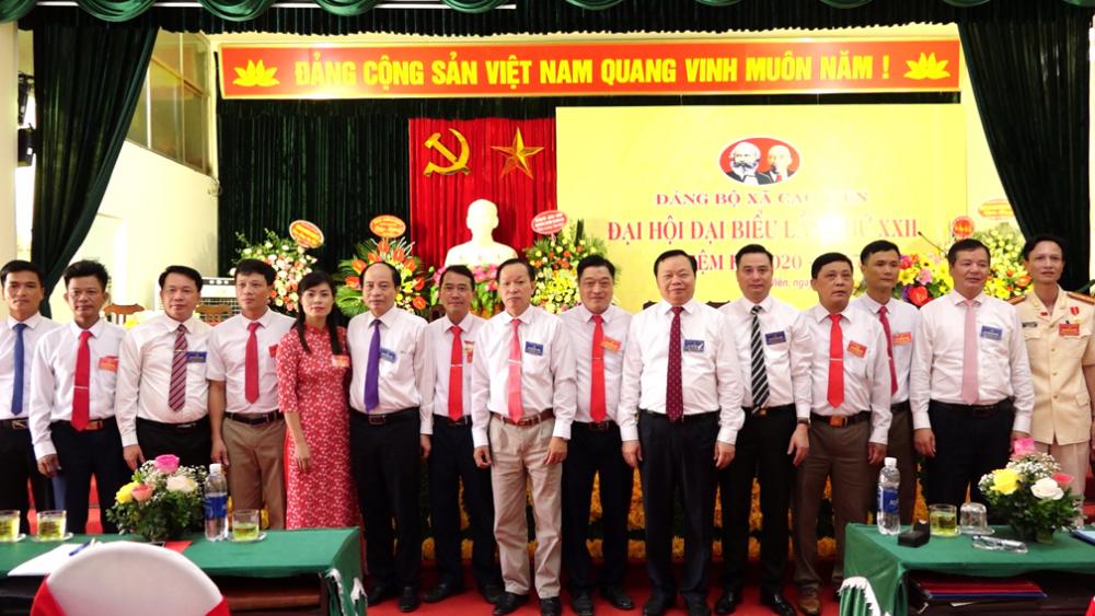 Đảng bộ xã Cao Viên tổ chức thành công Đại hội lần thứ XXII
