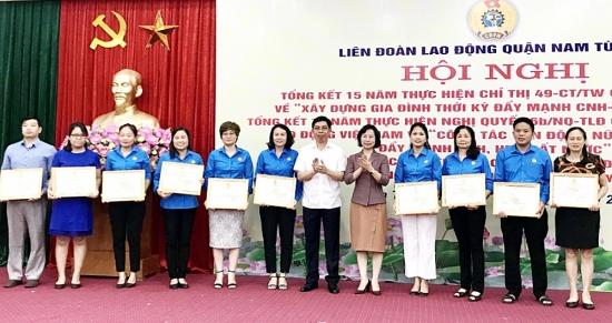 Nâng cao công tác phụ nữ thời kỳ mới