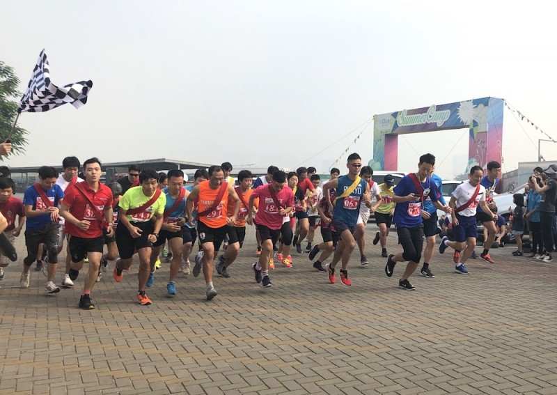 """Cuộc thi chạy Ekiden """"Nhật Bản trong lòng Việt Nam"""" 2019"""