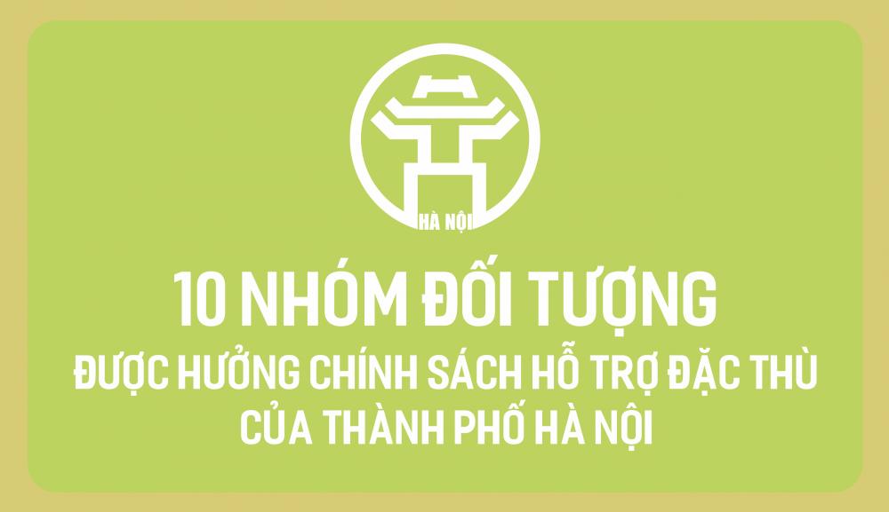 10 nhóm đối tượng được hưởng chính sách hỗ trợ đặc thù của thành phố Hà Nội