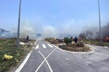 Tiềm ẩn nhiều nguy cơ cháy nổ từ đốt rác tự phát