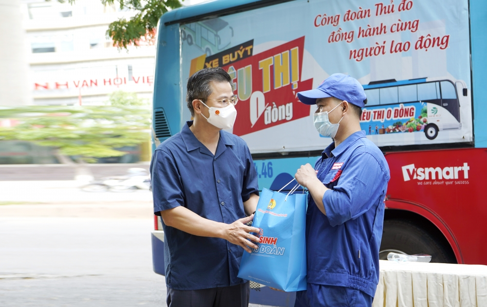 Các cấp Công đoàn Thủ đô: Đồng hành cùng doanh nghiệp chăm lo cho người lao động