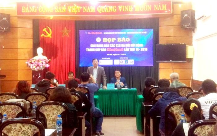Giải bóng bàn các Câu lạc bộ Hà Nội mở rộng tranh Cúp báo Hànộimới lần thứ VI – 2018