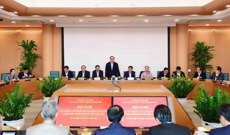 Hội nghị kiểm điểm công tác  năm 2019