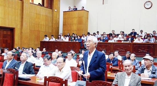 Hoàn thiện dự thảo các văn kiện Đại hội XIII của Đảng