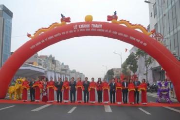 Quận Long Biên: Khánh thành tuyến đường huyết mạch