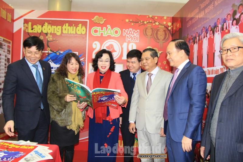 Sáng 25/1 sẽ khai mạc Hội báo Xuân Kỷ Hợi - Hà Nội năm 2019