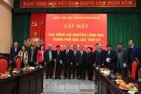 Hà Nội gặp mặt chúc Tết các đồng chí nguyên lãnh đạo Thành phố