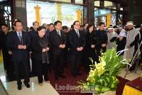 Tổ chức trang trọng lễ tang đồng chí Nguyễn Văn Tâm