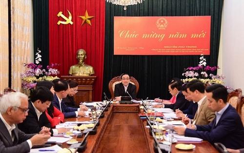 Bí thư Thành ủy Hoàng Trung Hải: Khôngmất cảnh giác với dịch bệnh do virus Corona gây nên