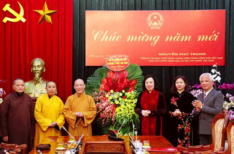 Giáo hội Phật giáo tiếp tục đồng hành, đóng góp xây dựng Thủ đô