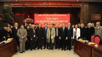Hà Nội tổ chức gặp mặt đại biểu hội viên Câu lạc bộ Thăng Long