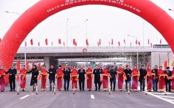 Sáng 9/1: Khánh thành và gắn biển nút giao Vành đai 3 với cao tốc Hà Nội - Hải Phòng