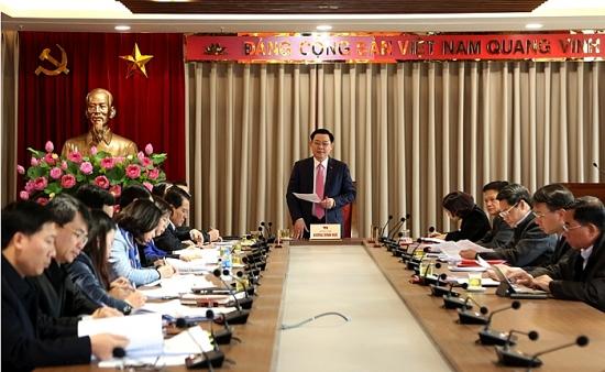 Đồng chí Vương Đình Huệ làm Trưởng Ban Chỉ đạo quản lý tổ chức bộ máy, biên chế Hà Nội