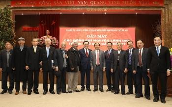 Hà Nội tổ chức gặp mặt nguyên lãnh đạo thành phố qua các thời kỳ