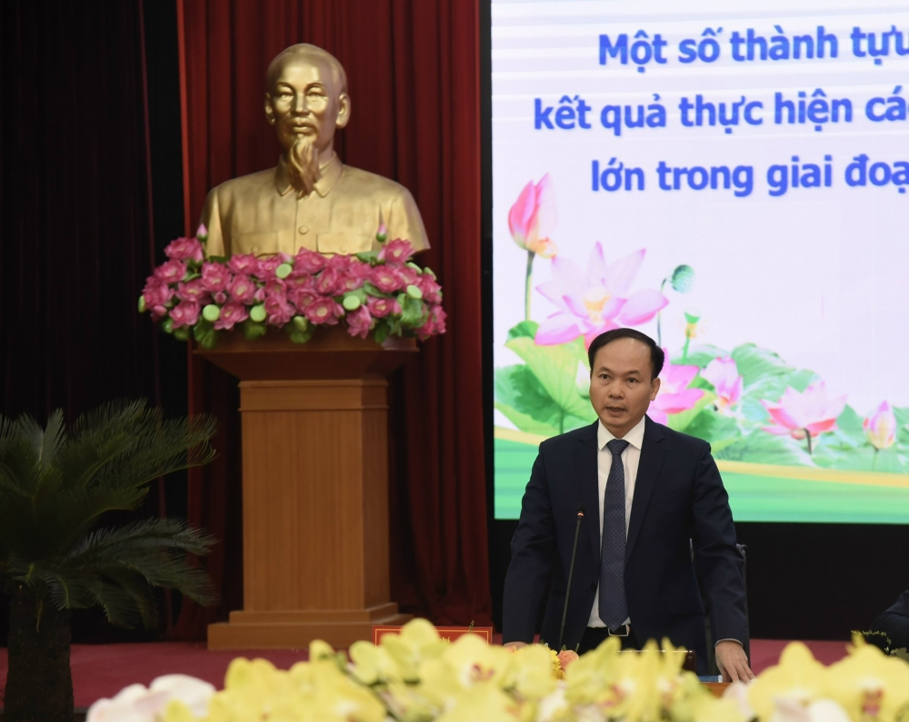 Bí thư Quận ủy Long Biên Đường Hoài Nam nêu kiến nghị