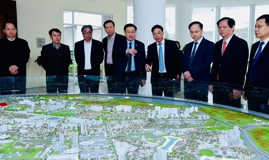 Bí thư Thành ủy Vương Đình Huệ: Phát triển đô thị phải gắn với kinh tế đô thị