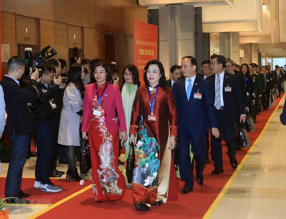 Danh sách Đoàn đại biểu Đảng bộ thành phố Hà Nội dự Đại hội XIII của Đảng
